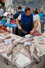 Setubal fish market